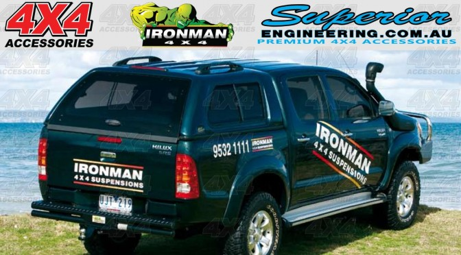 Ironman 4x4 Ute Canopy & Ironman 4x4 Ute Canopy | 4x4 Accessories Online