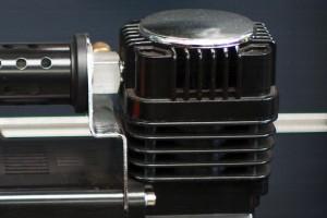 Air compressor motor housing