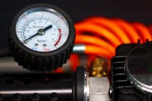 Air compressor pressure guage
