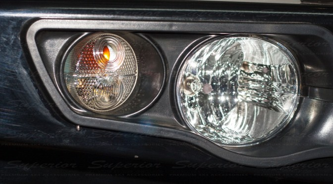New Fog Light Design for the MCC 4x4 Falcon Bullbar