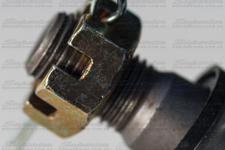 Side view of Tie Rod End Adjusting Nut