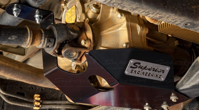 Complete Setup of the Superior Engineering Transfer Case Guard