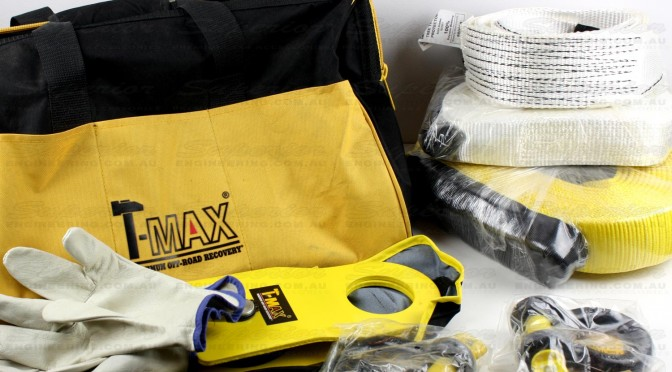 T-Max complete 8 Piece Vehicle Recovery Kit