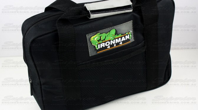 The heavy duty Ironman 4x4 small recovery kit bag