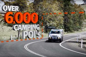 Over six thousand free and low-cost campsites