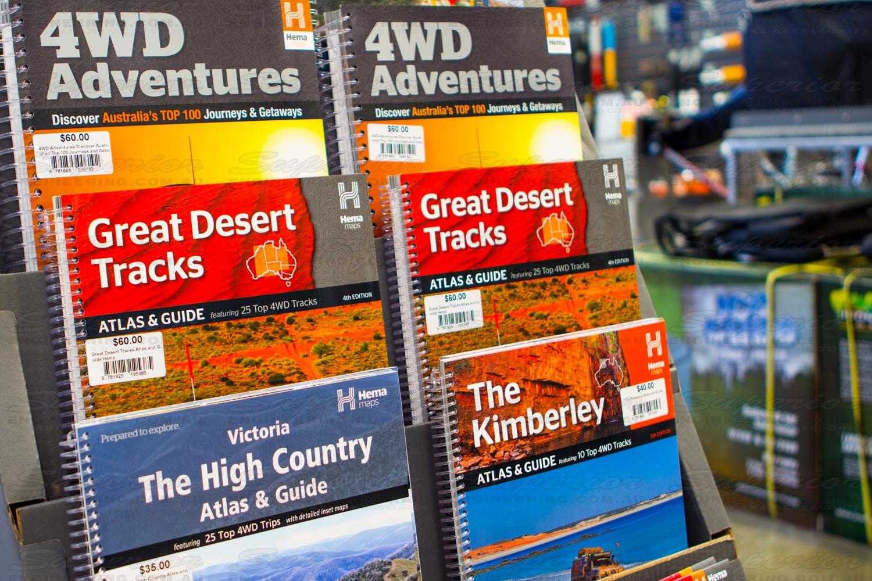 Full comprehensive range of waterproof, durable, foldable paper maps