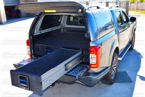 These drawers are available in a variety of different lengths and sizes to suit the Triton, BT50, Ranger and Navara