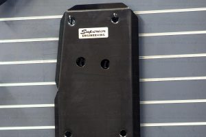 The fuel tank guard is manufactured from premium grade Australian 3mm steel plate and laser cut for a precise fit