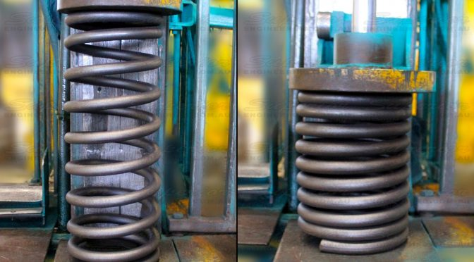 Superior coils are one hundred percent fully scragged to eliminate subsequent spring sag