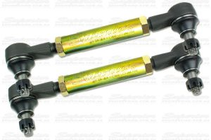 A pair of heavy duty Tie Rod Adjusters to suit the Nissan Navara D22 4WD