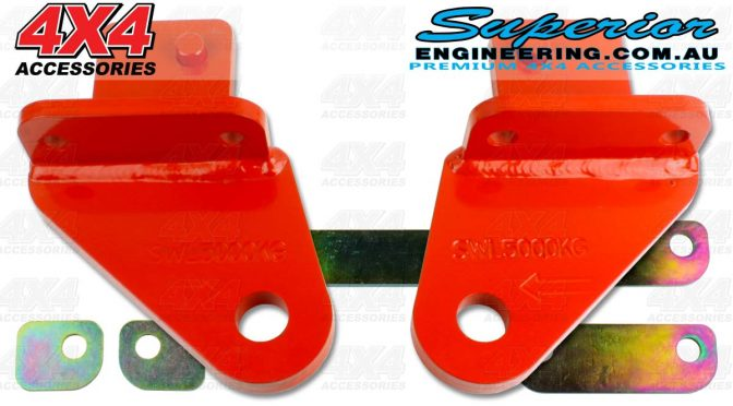 Rated Towing Point Kit Nissan Navara NP300 D23