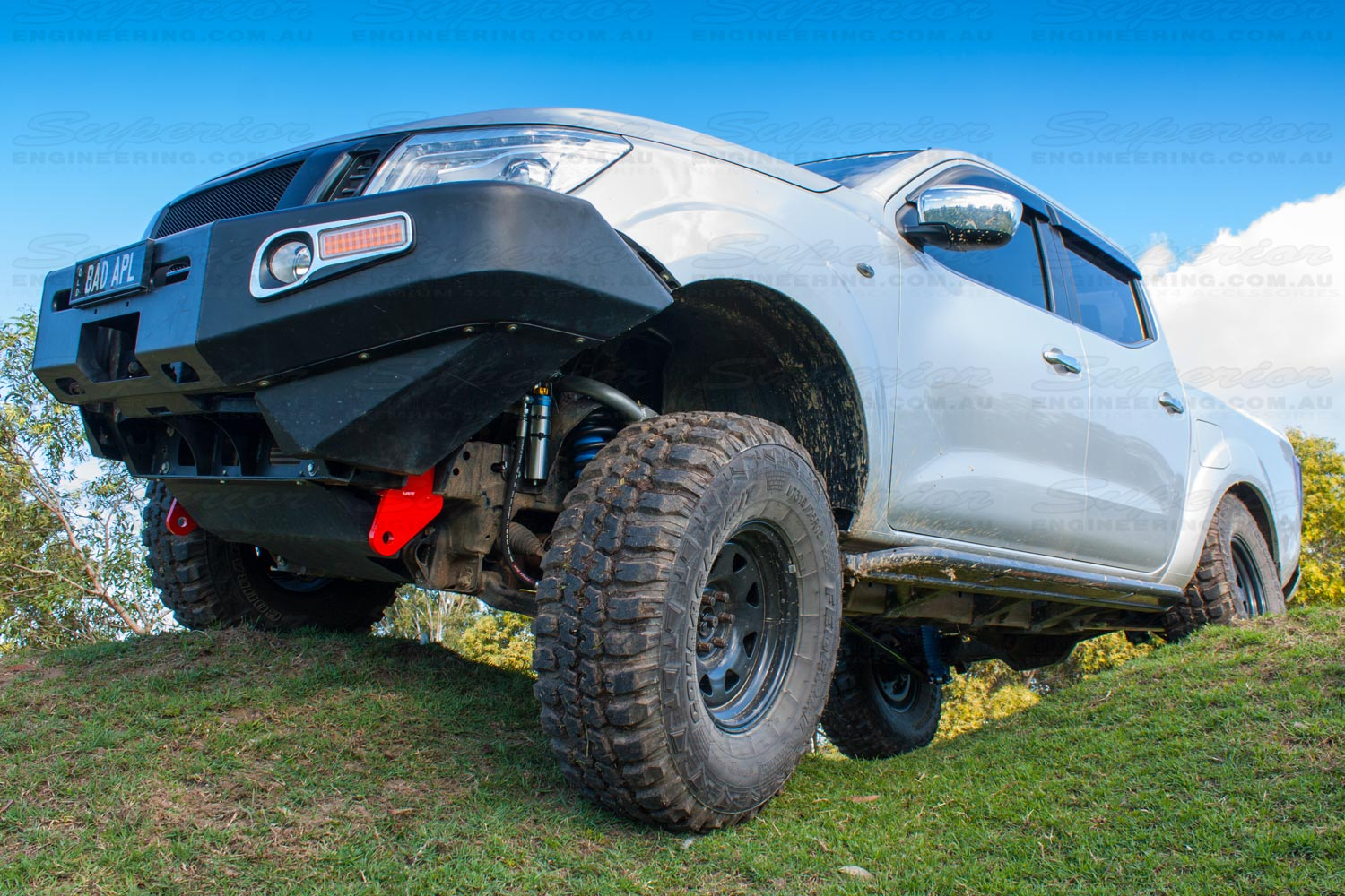 towing-point-nissan-np300-7 | 4x4 Accessories Online